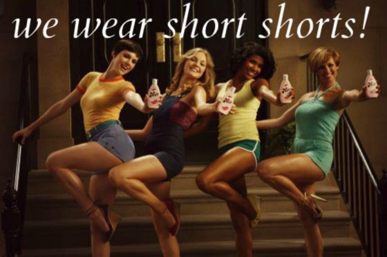 We wear short shorts